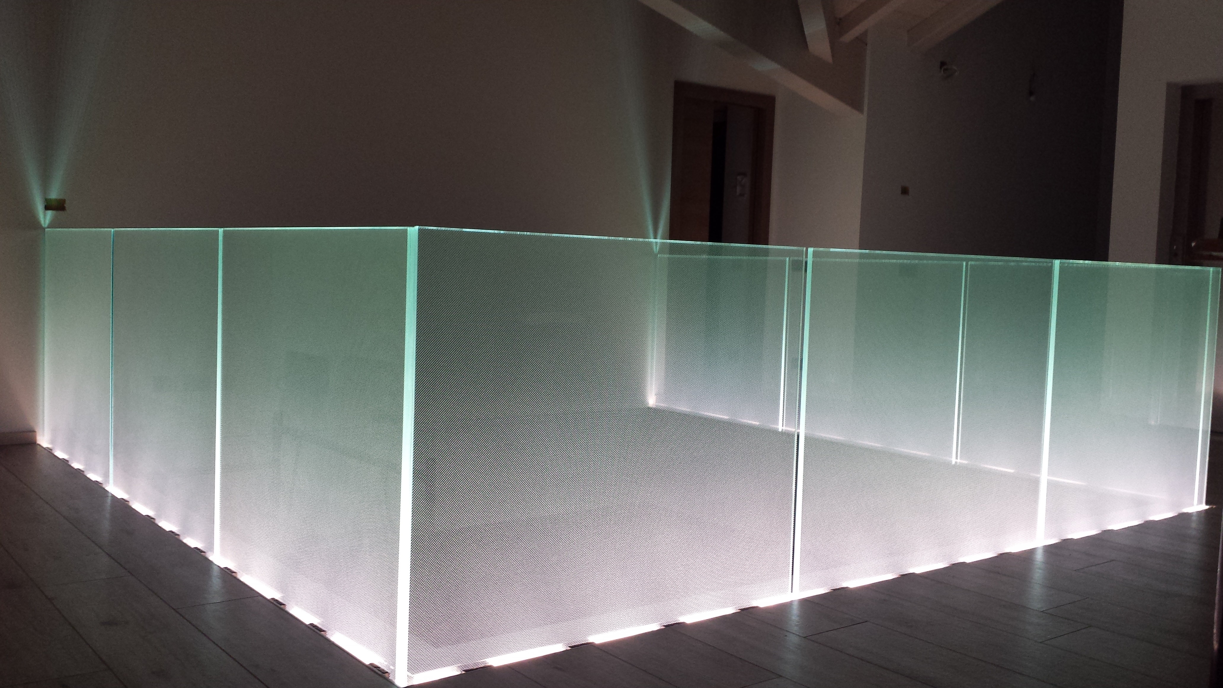 Parapetti in acciaio inossidabile nuova ocim nuova ocim srl - Parapetti scale in vetro ...
