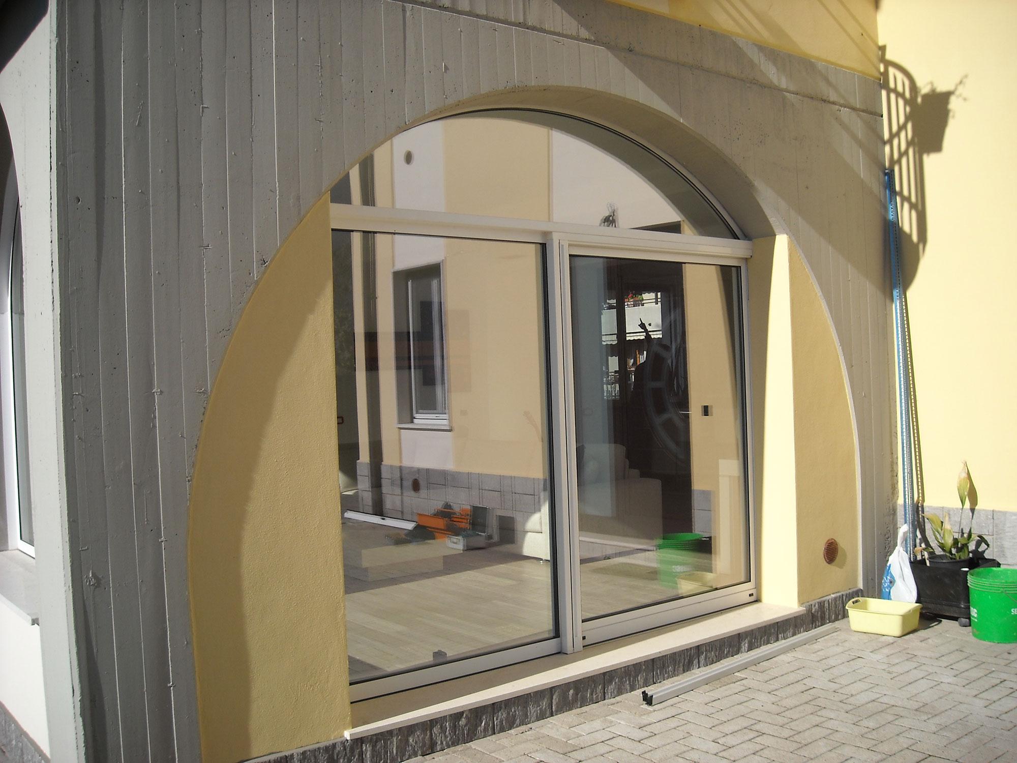 Serramenti e porte in alluminio nuova ocim nuova ocim srl - Porte ad arco ...